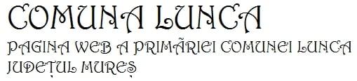 Logo Comuna Lunca
